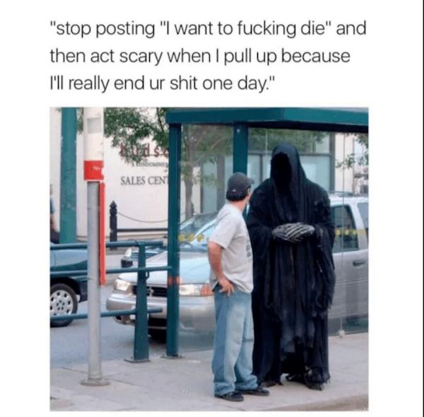 Grim Reaper Scary
