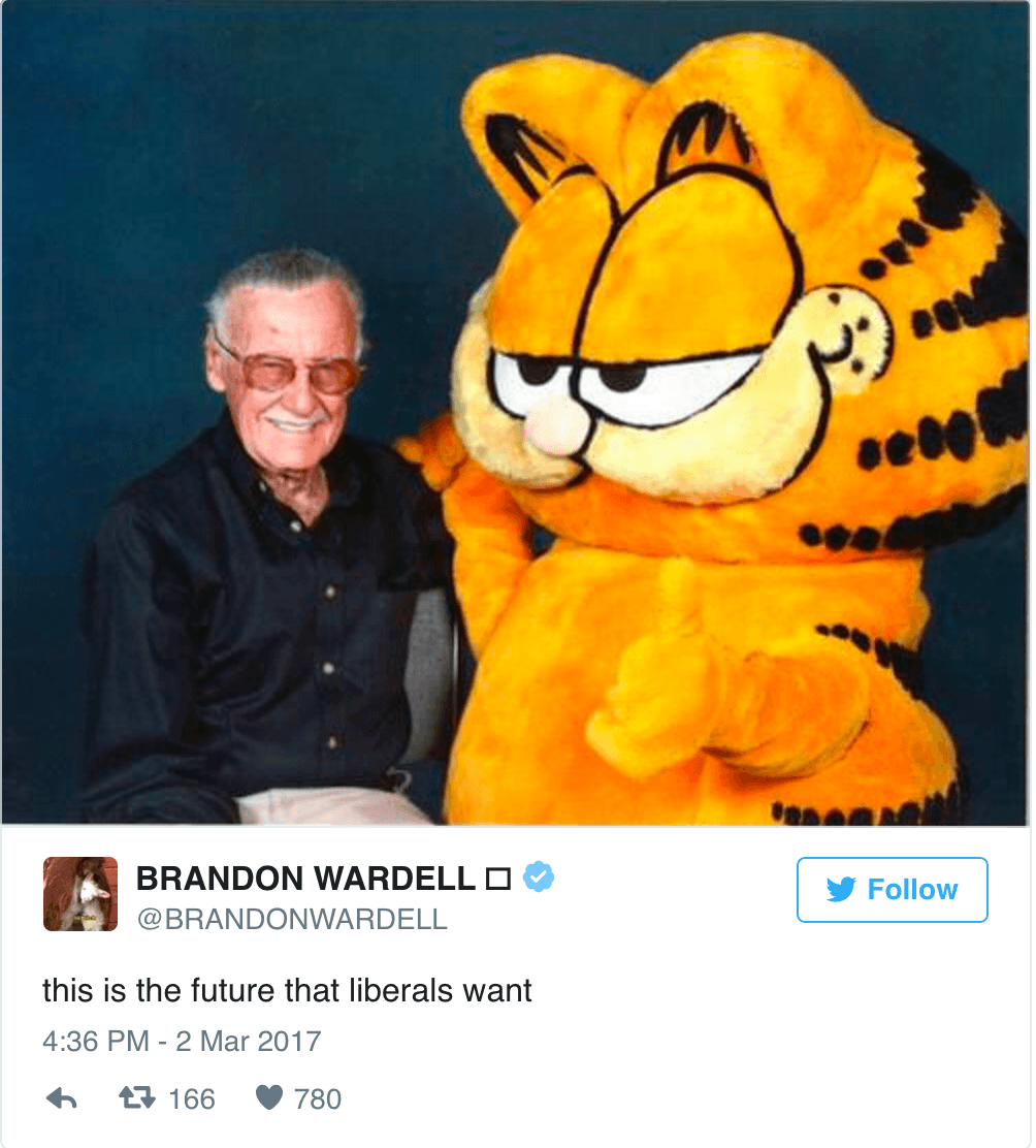 Liberals Want Garfield