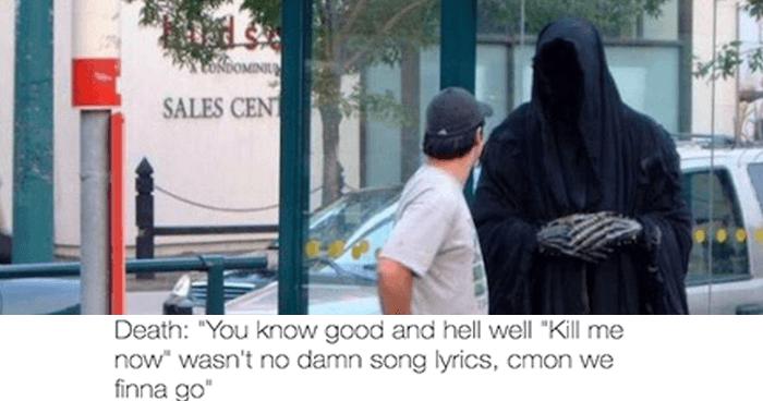 OG song lyrics 18 grim reaper memes that will make you say \