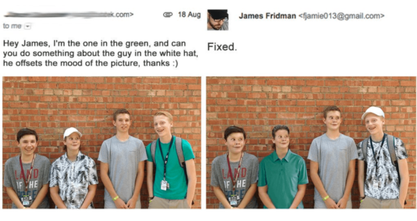James Fridman Photoshops