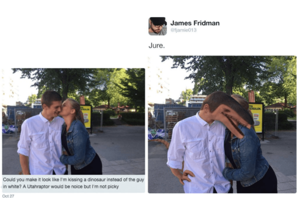 Hilarious James Fridman Photoshops