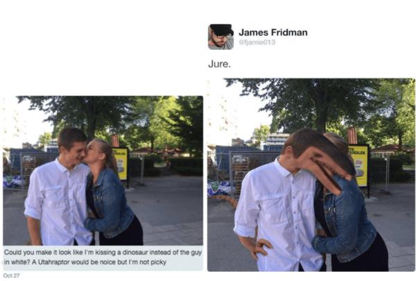 Hilarious James Fridman Photoshops