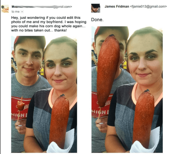 James Fridman Photoshop Trolls