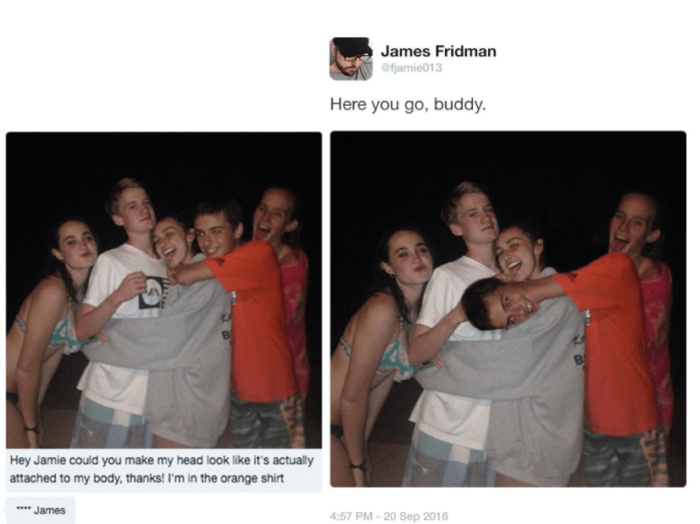 Make My Head Look Like It's On My Body