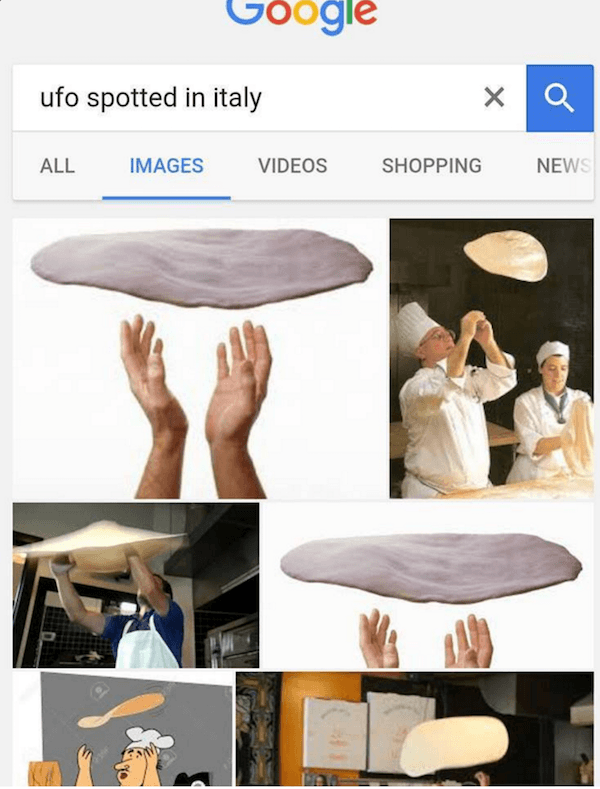 UFO 32 italian memes that will make you start talking with your hands