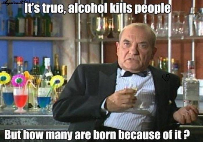 Alcohol Meme Funny