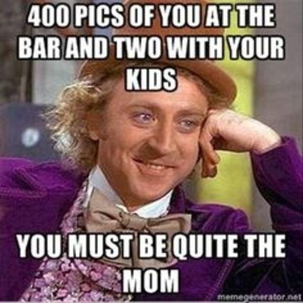 Bar Mom Condescending Wonka Memes