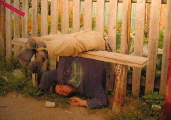 Bench Man