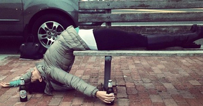 Bench Yoga