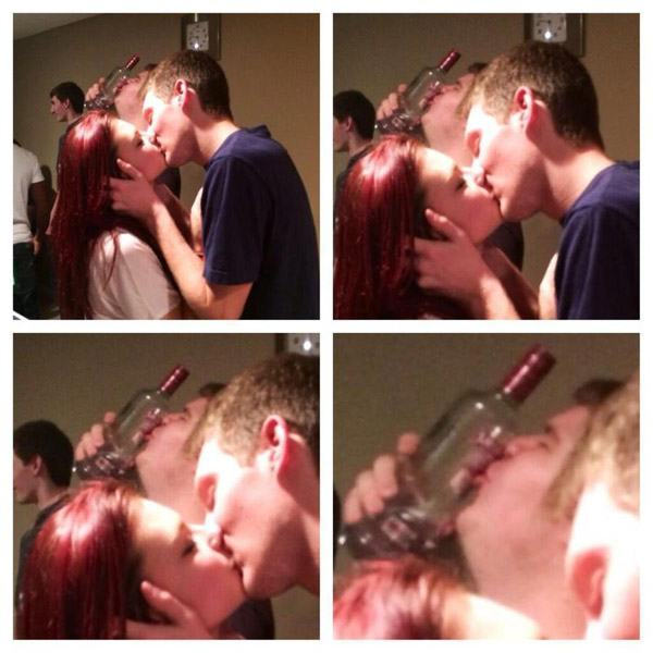 Bottle Kiss