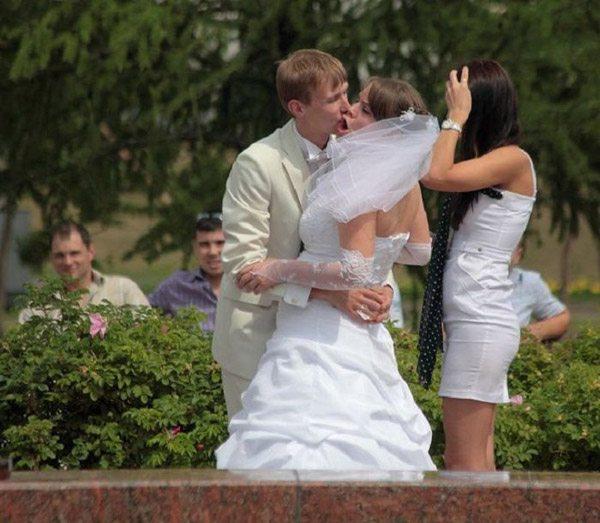 Bride Kiss