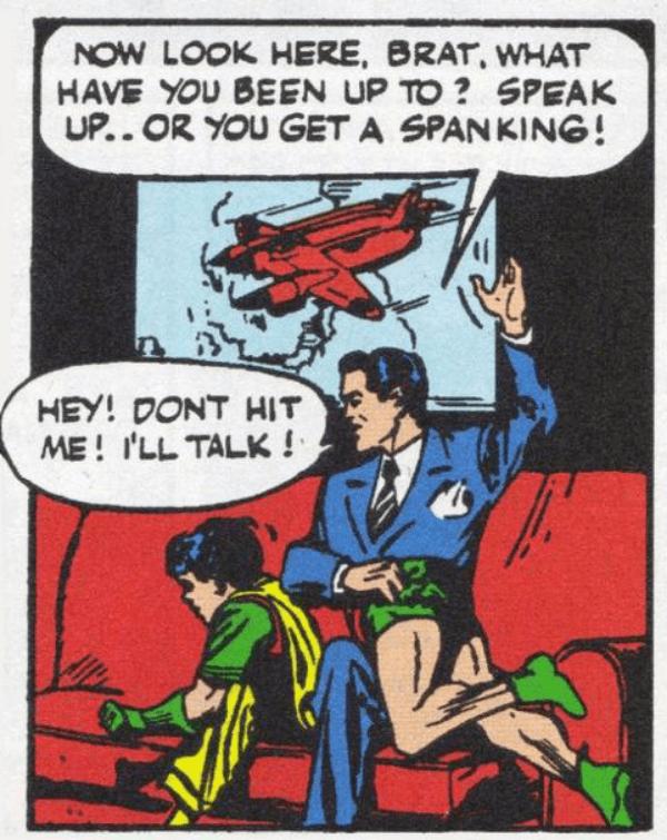 Bruce Spank Dick