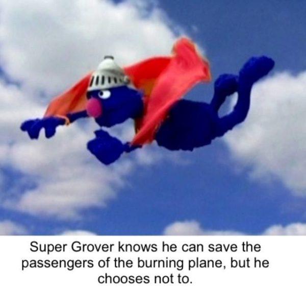 Burning Plane