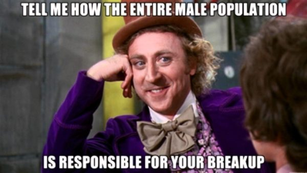 Willy Wonka Memes Break Up