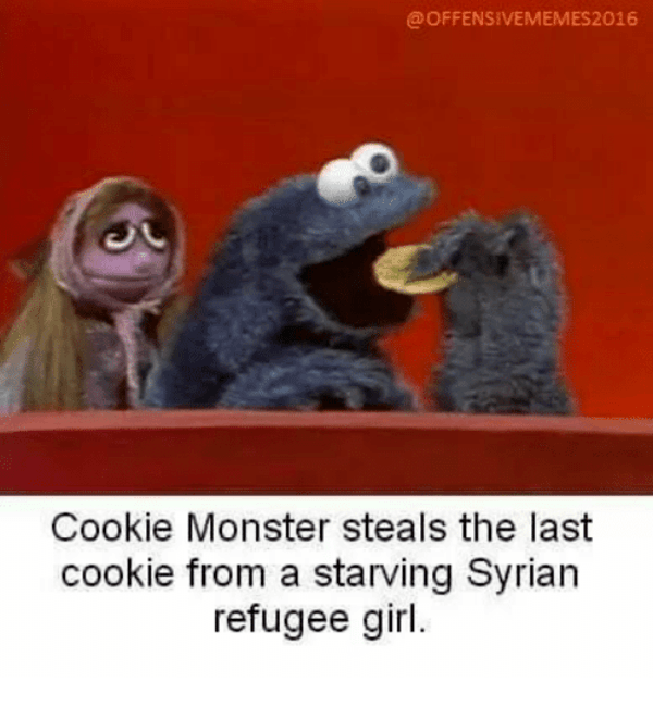 Cookie Monster Syrian