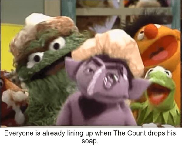 Count Drops Soap