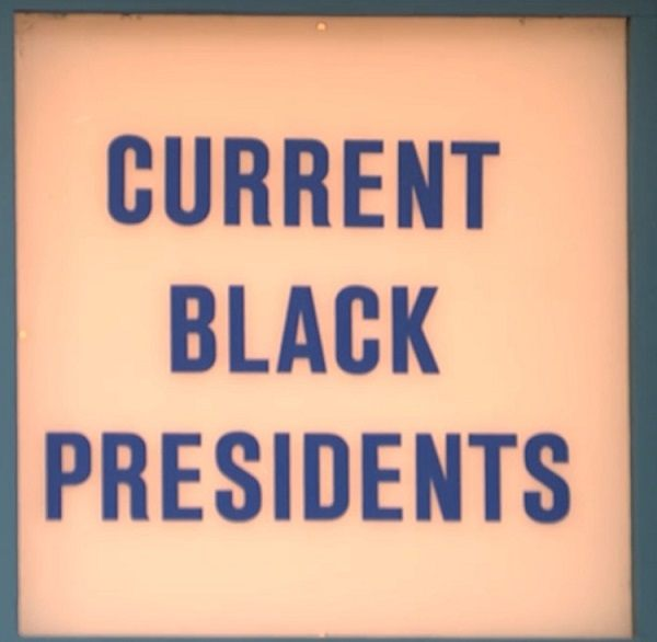 Current Black Presidents