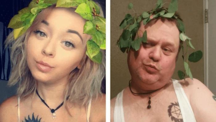 Dad Trolling Daughter Instagram