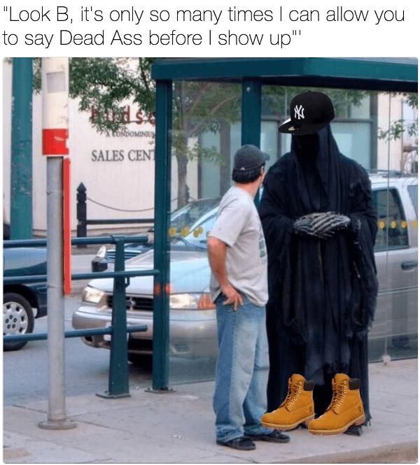 Dead Ass Grim Reaper Memes