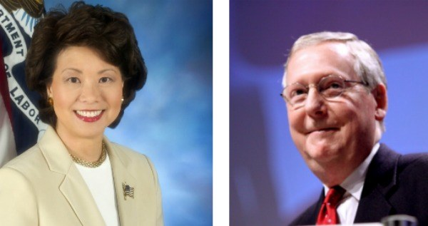 Elaine Chao Mitch Mcconnell