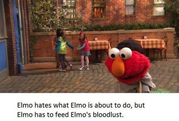 Elmo Bloodlust
