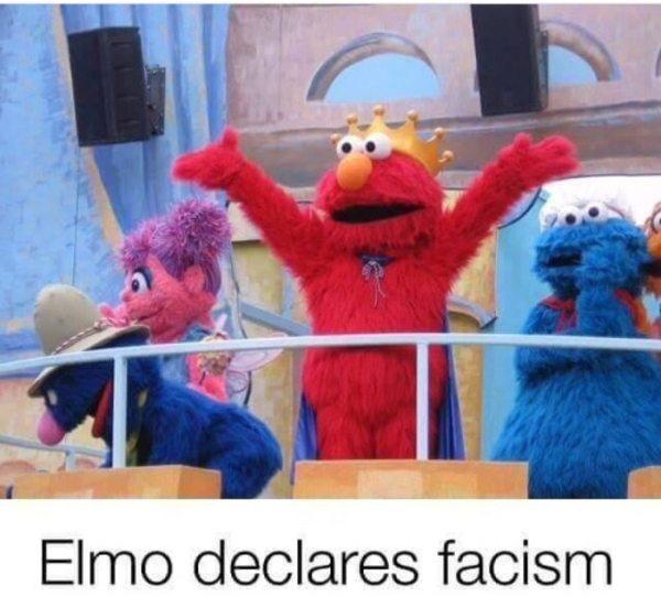 Elmo Facism