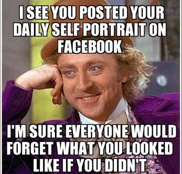 Facebook Willy Wonka