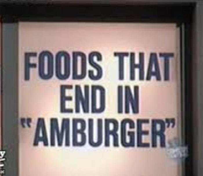Foods Amburger