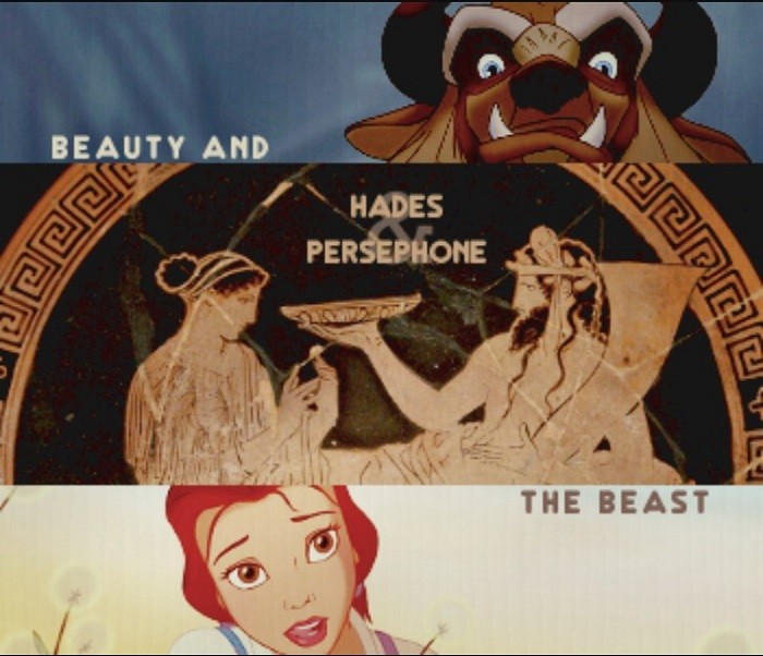 Hades And Persephone Beauty And The Beast Memes