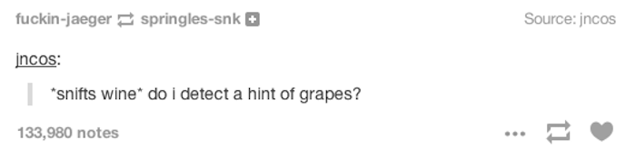 Hint Of Grapes