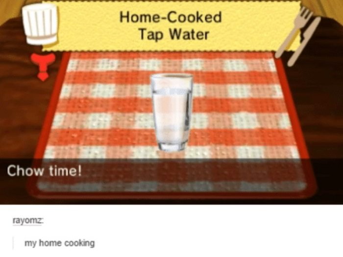 Home Cooked Tap Water