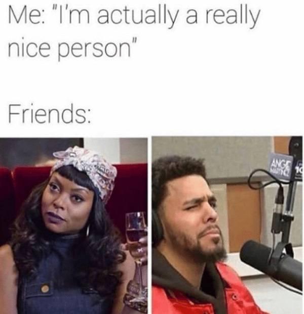 I'm Actually A Nice Person