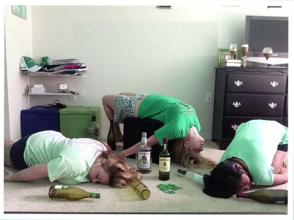 irish yoga girls 35 irish yoga poses that only take a bottle of jameson to master