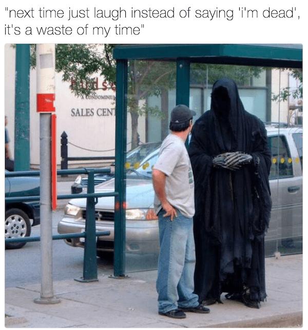 Laugh Funny Grim Reaper Memes