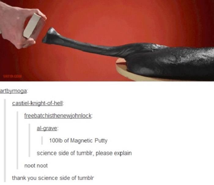Magnetic Putty Noot Noot