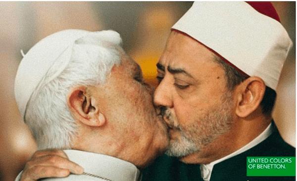 Man Kisses