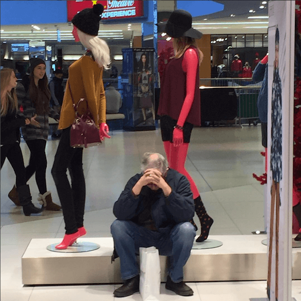 Miserable Men Mannequin