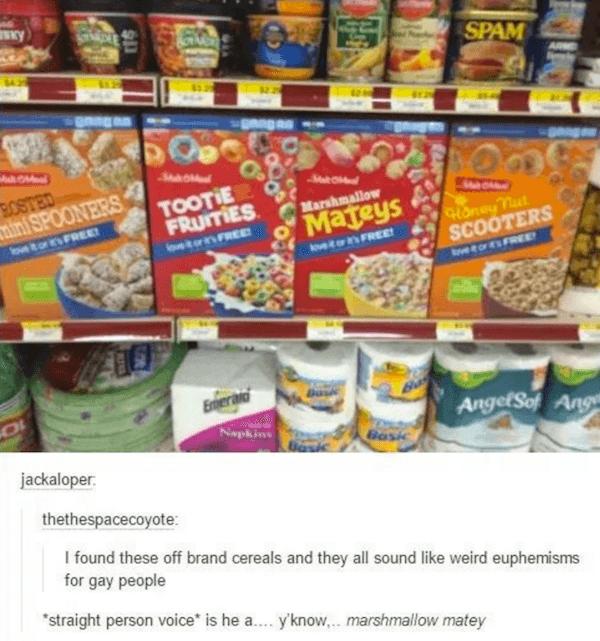 Off Brand Cereals