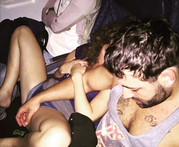Passenger Shaming Couple