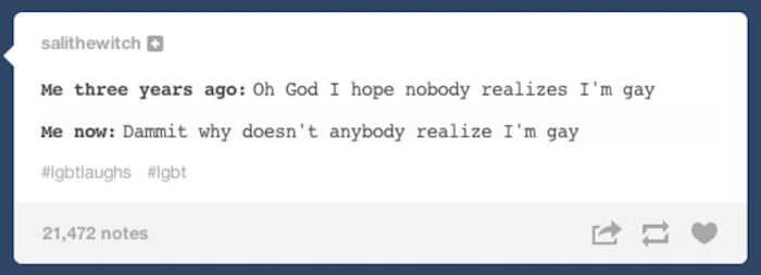 Realize Im Gay