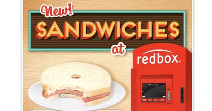 Sandwiches At Redbox