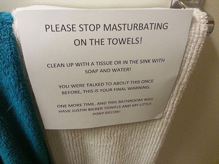 Save The Towels