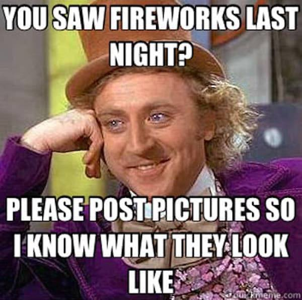 Saw The Fireworks
