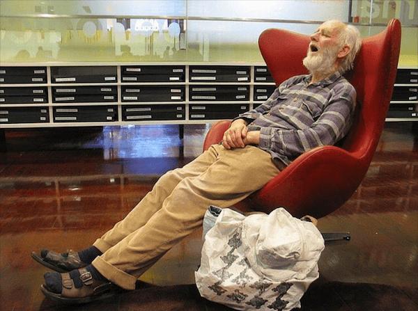 Sleeping Chair