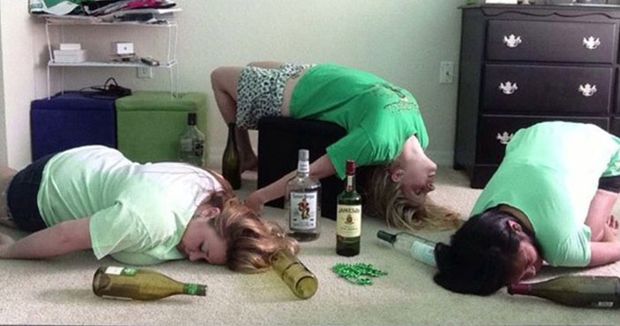 sorority yoga 35 irish yoga poses that only take a bottle of jameson to master
