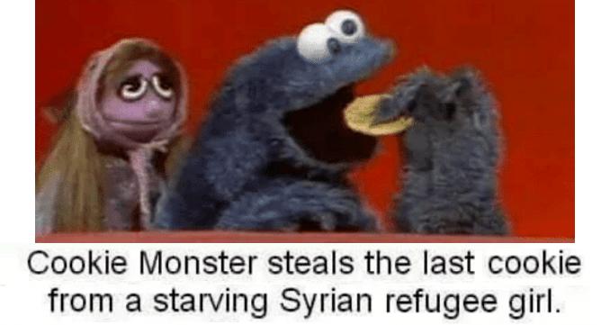 Starving Refugee