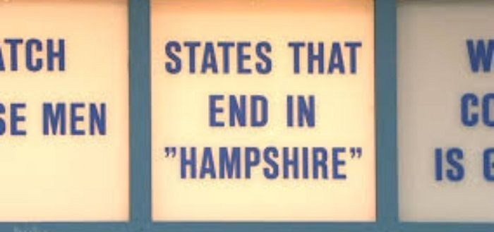 States That End In Hampshire