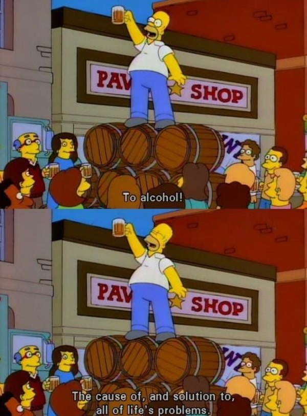 To Alcohol Simpsons