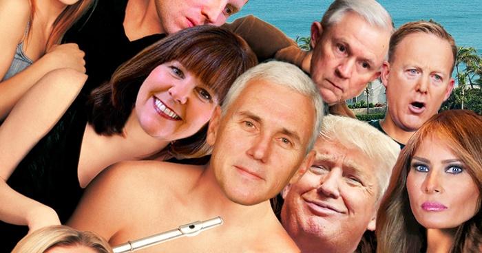 Trump Pence American Pie