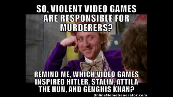 Video Games Murders